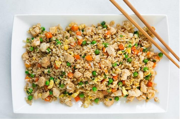 Chicken Fried rice from Cooking Classy